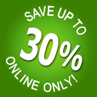 Book online and get up to 30% off!