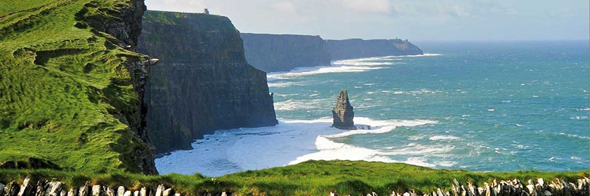 The spectacular Cliffs of Moher on the Wilds Atlantic Way