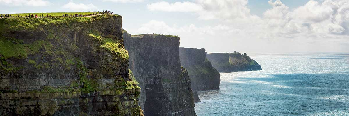 See the iconic Cliffs of Moher on the Wild Atlantic Way on our day tour