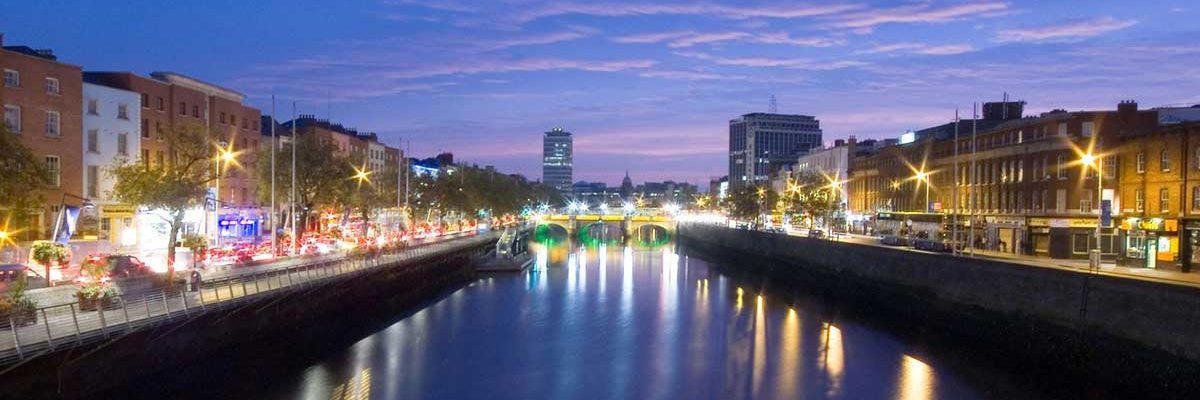 Steeped in history, Dublin has become is a modern bustling city