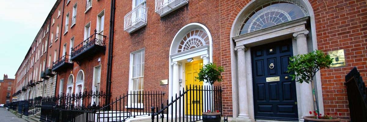 Merrion Square with its iconic doors is the heart of Georgian Dublin
