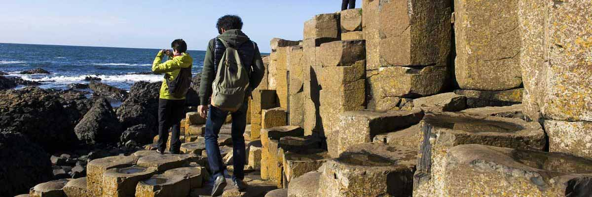 Visit the ancient wonder of the Giants Causeway on our day tour