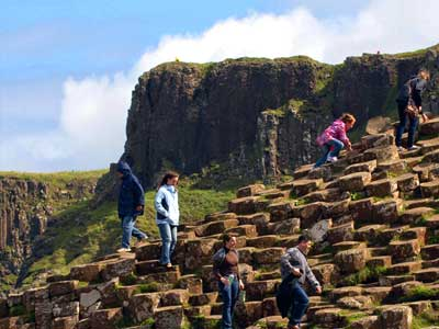 See day tours from Dublin in Giant's Causeway Express