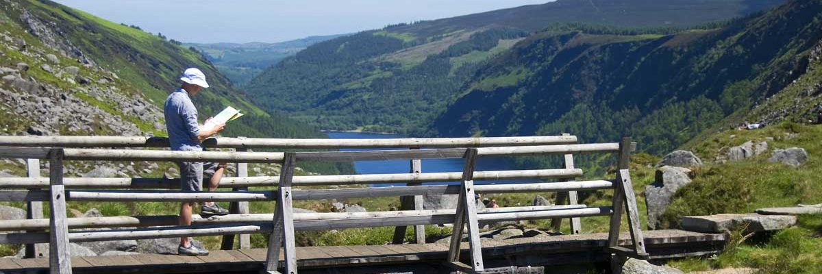 "Glendalough - the ""valley of the two lakes"""